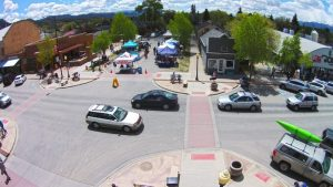 "Aerial look at Salida, Colo. It took over three decades, but the ""Heart of the Rockies"" today shines as an example of how to create a strong, lasting rural economy."